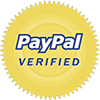 Shop safely - We're verified by PayPal
