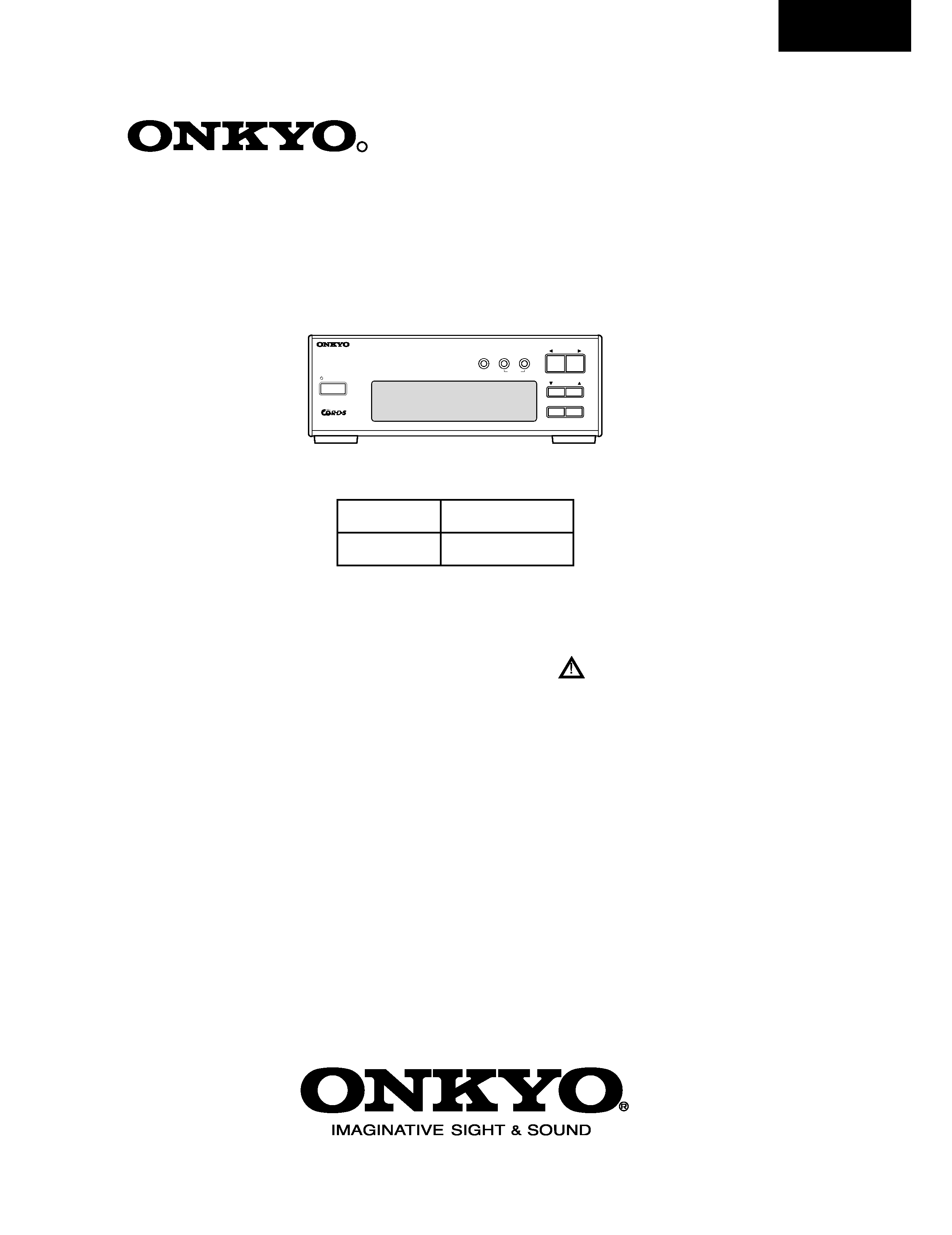service manual for onkyo t-405tx