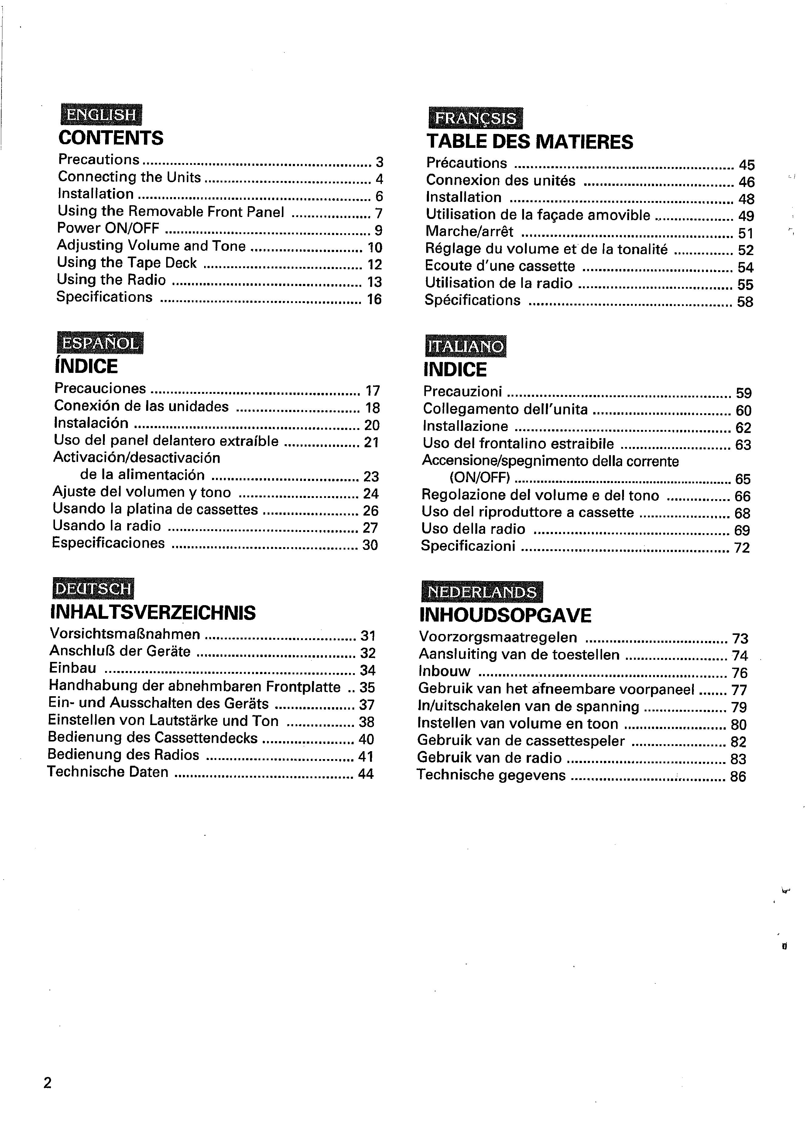 Owner U0026 39 S Manual For Pioneer Keh-1500