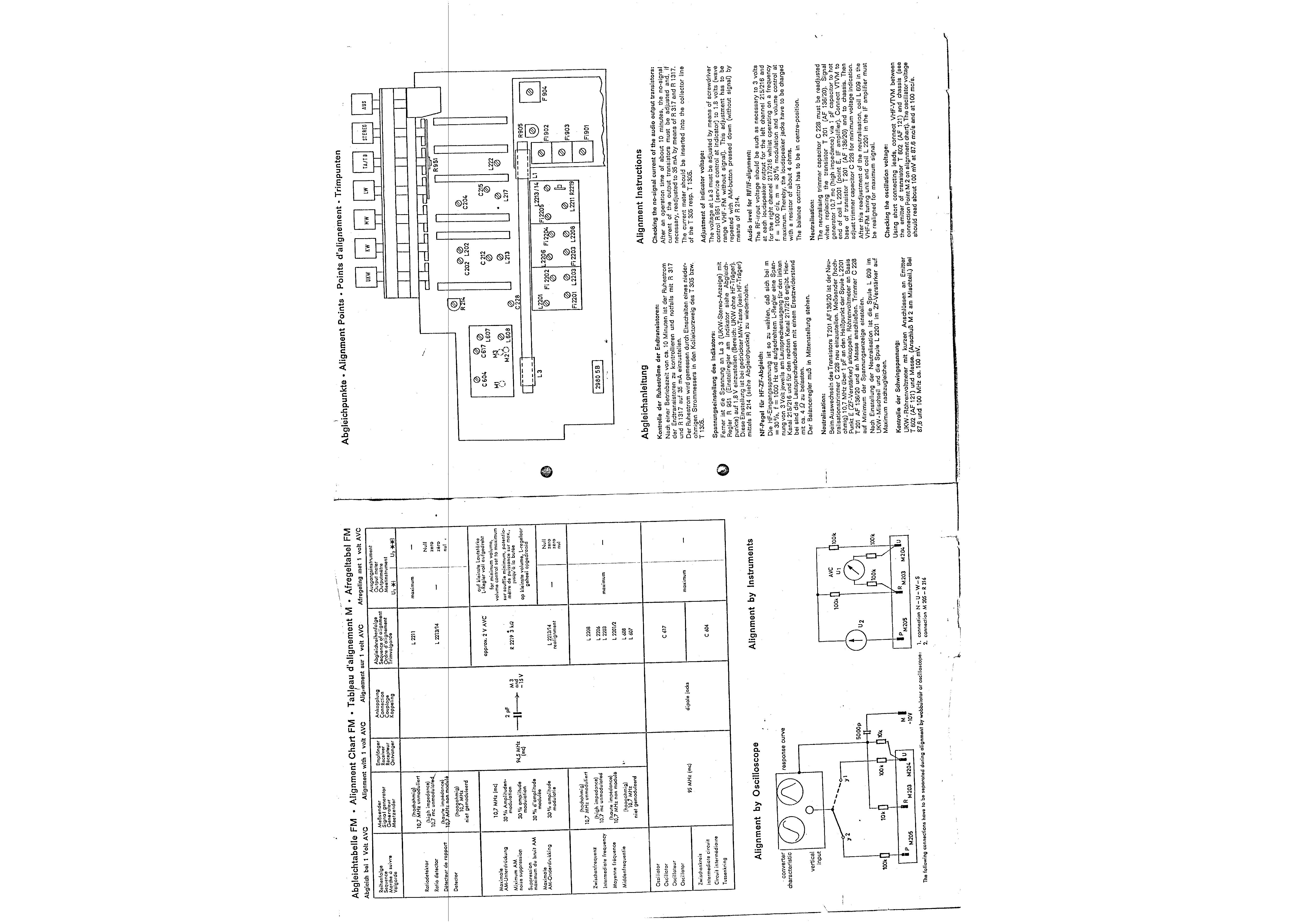 service manual for telefunken 2650 operette