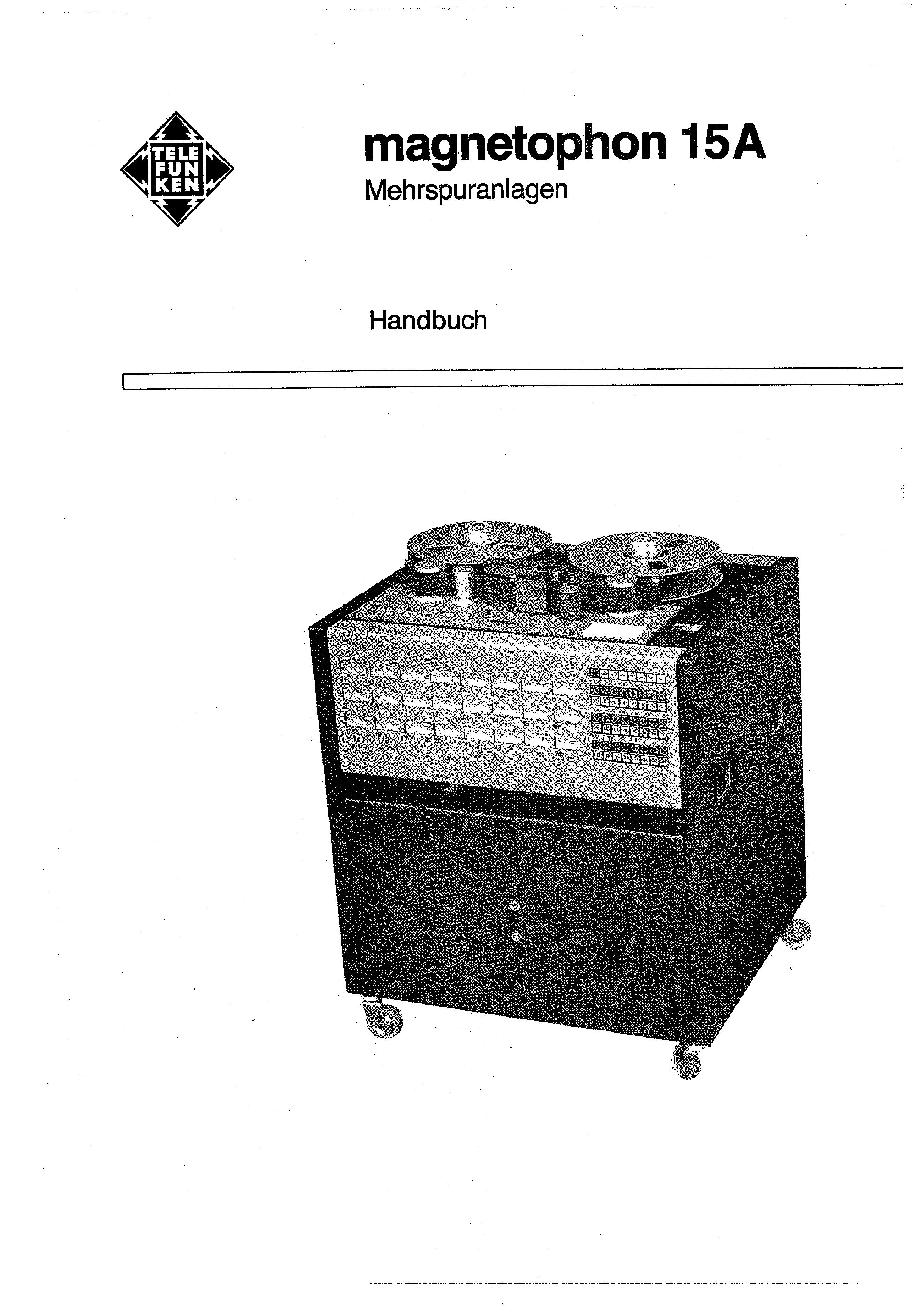 Service Manual for TELEFUNKEN M15A VOLUME 2 - Download