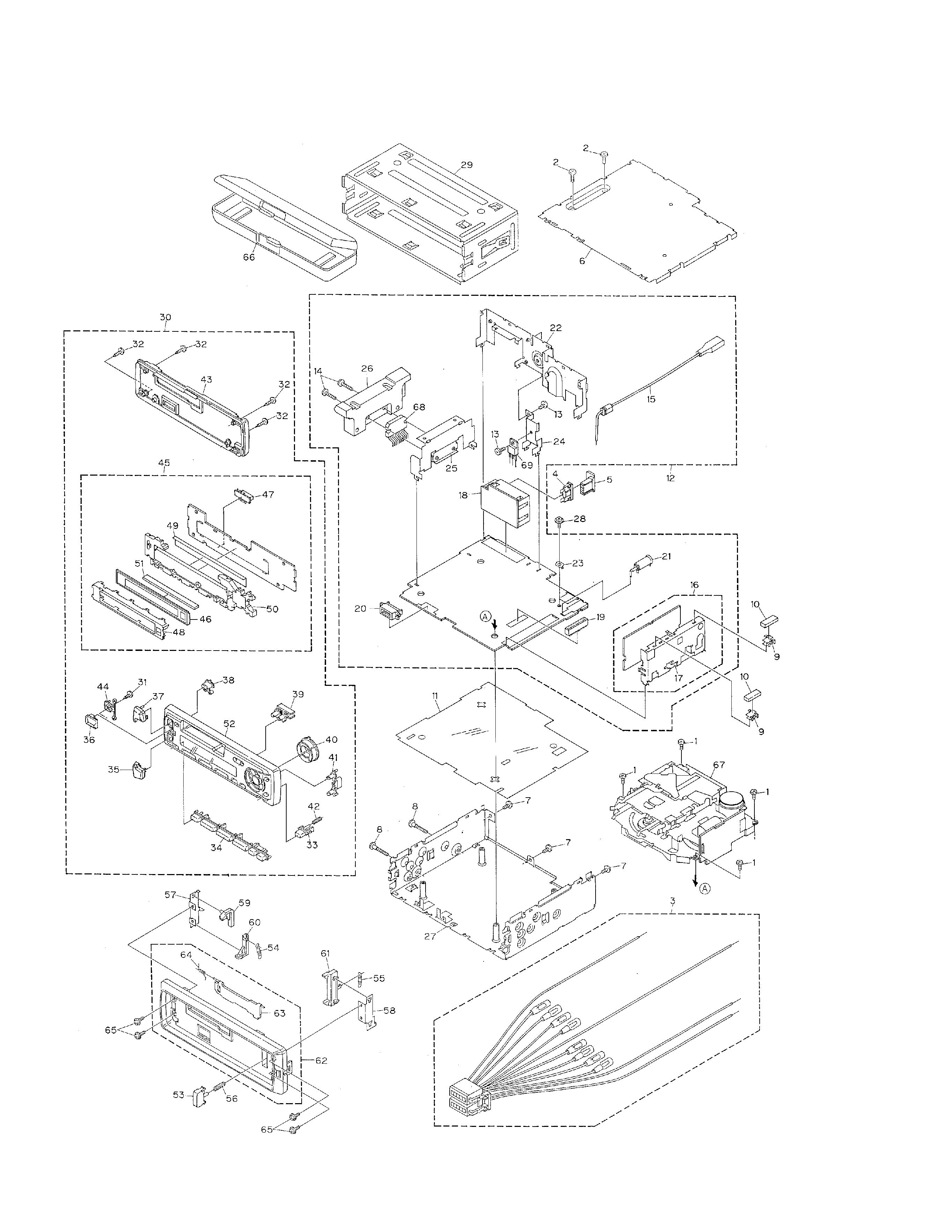 service manual for pioneer keh3800r