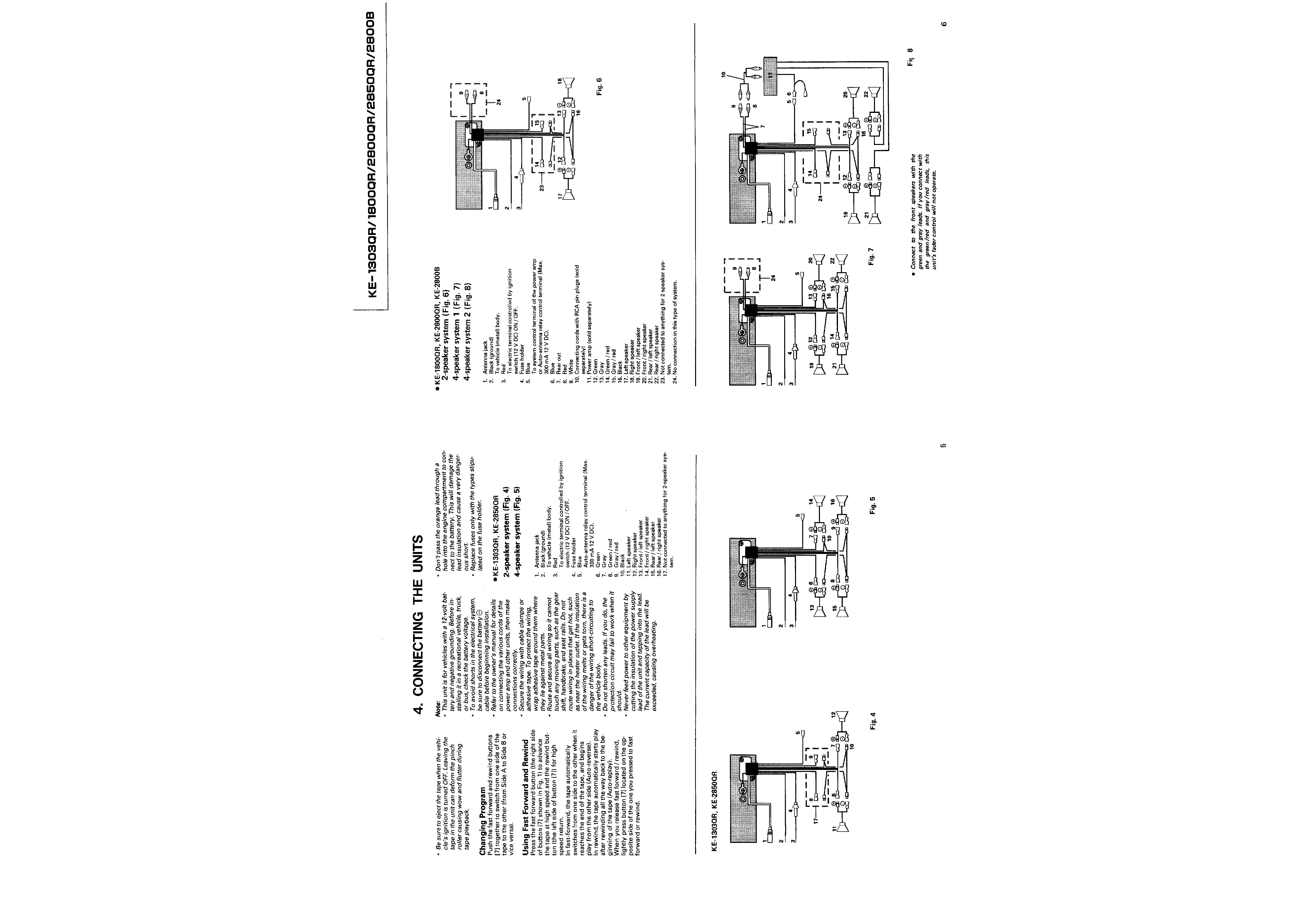 service manual for pioneer ke-2850qr